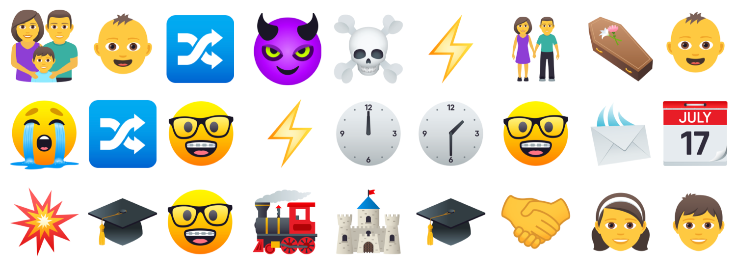 Emoji tell the story of Harry Potter